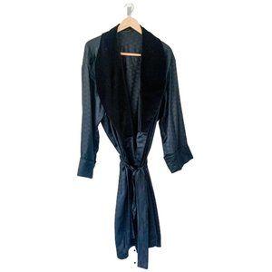 Custom Leisure Silk Suit in Black